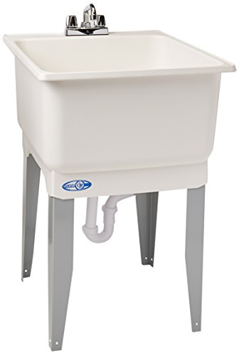 Mustee 14CP Utilatub Combo Laundry/Utility Tub by Mustee