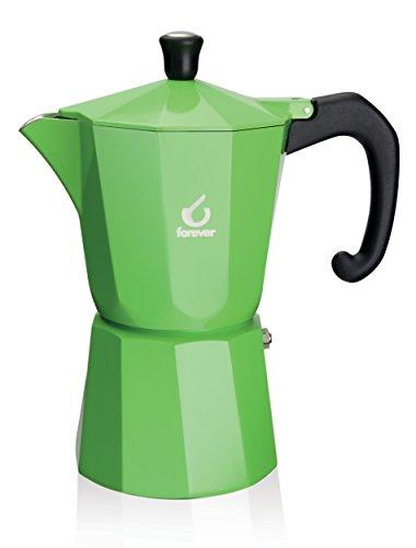 Forever, KG120136,Espressokanne, für 1 Tasse, Grün