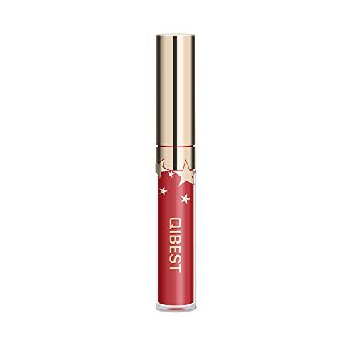 Auifor✿Sexy Long Lasting Lip Lingerie Matte Flüssigkeit Lippenstift Wasserdicht Lippenglanz-Verfassung -