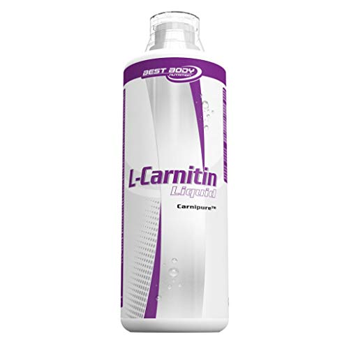 Best Body Nutrition L-Carnitin liquid, 1L Flasche , Limette (3er Pack)