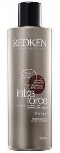 Pflege Toner (Redken - Intra Force System 2 Toner Pflege & Schutz der Haarfarbe durch UV-Filter - 245 ml)