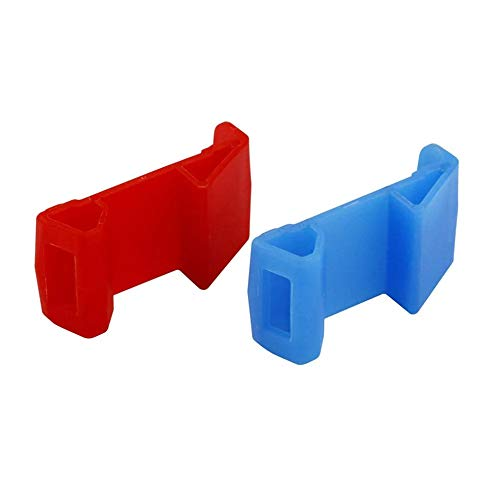 CHOULI 2 PCS LDARC RC Drone Battery TPU Landing Gear for 450-850mAh Lipo Battery S Blue-Red - Landing 450