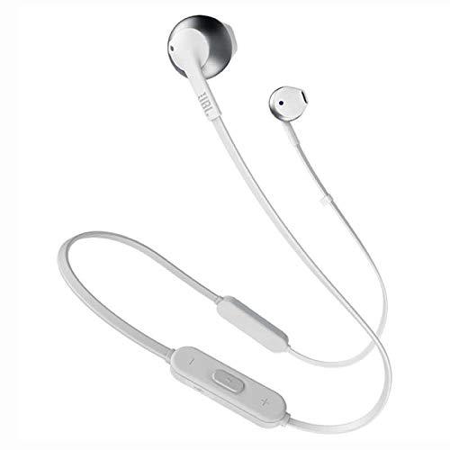 JBL Tune 205BT Wireless Earbud Headphones with Mic (Gold)