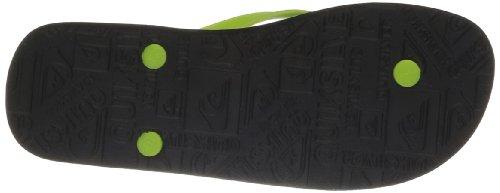Quiksilver Molokai Mw Logo, Tongs homme Noir (Xkgb)