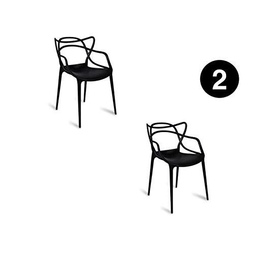 Ace4chairs Set di 2 sedie Kartell Philippe Starck ispirato maestri ...