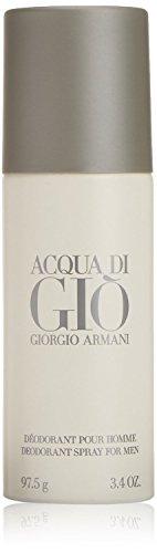 Acqua Di Gio Giorgio Armani Deodorant Pour Homme Spray For Men 97.5 gm With A...  available at amazon for Rs.2832