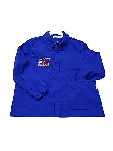 Primo della classe grembiule corto blu ragazzo scuola elementare per bambino (art. 8p220s) (65-6 anni)