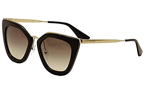 Prada Damen 0PR53SS 1AB0A7 52 Sonnenbrille, Schwarz (Black/Polargrey),