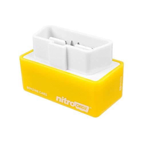 SingMax Fire EcoOBD2 USB-Scanner Kraftstoffsparer OBD2 Nitro Auto-Chip-Tuning-Box für Benzin 15% Kraftstoffeinsparung Plug&Drive Geringer Kraftstoff und niedriger