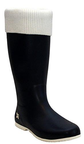 Butterfly Twists Womens Ladies Waterproof Knee High Rubber Festival Rain Mud Snow Girls Wellington Boots Wellies Sizes UK 3-8