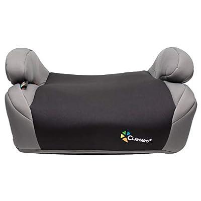 Clamaro 'Guardian Mini' Autositzerhöhung mit Isofix, Autositz der Gruppe 3 (22-36 kg) ECE R44/04, Sitzerhöhung bequem gepolstert mit Armlehnen, passend für Autos mit oder ohne Isofix