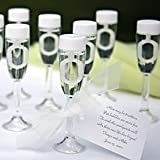 72 Champagne Glass Bubble Wedding Favours- NEW