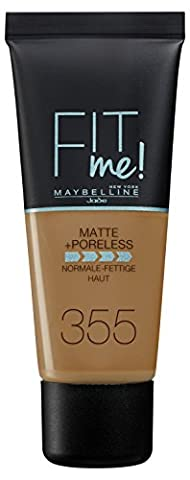 Maybelline Fit Me Matte & Poreless Foundation 355 Pecan 30ml