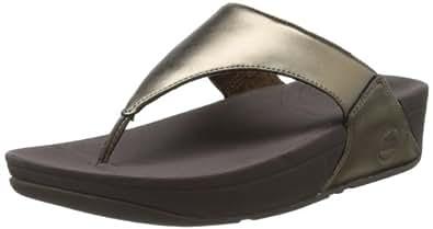 FitFlop Lulu Bronze Womens Sandals Size 6.5 UK
