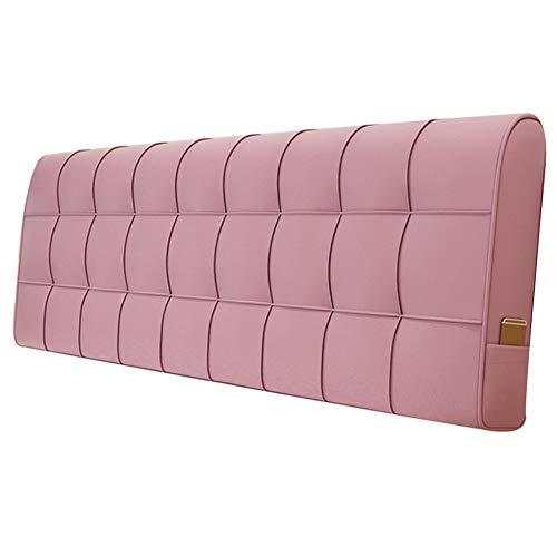 LINLINZ-Rückenlehne Bett Kissen Rechteck Weich Gemütlich Waschbar Metallreißverschluss Umweltschutz, 5 Farben 4 Größen (Color : A, Size : 150X10X58cm) -