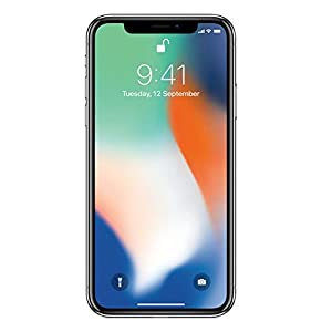 Apple iPhone X (Silver, 3GB RAM, 256GB Storage, 12 MP Dual Camera, 458 PPI Display)