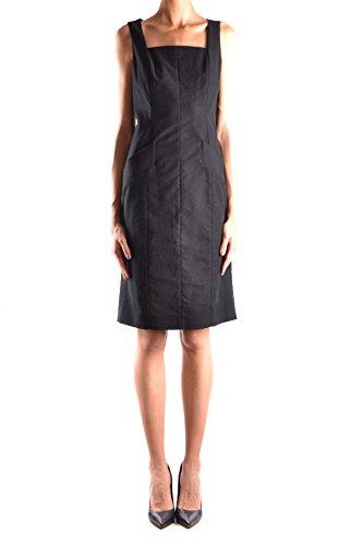 Red Valentino Damen Mcbi249084o Schwarz Baumwolle Kleid