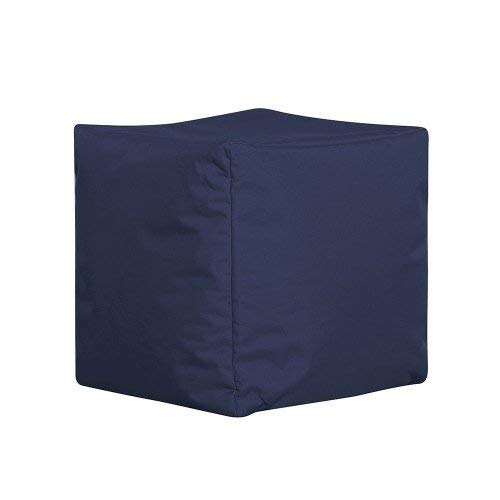 Jumbo Bag Cube Bleu Jeans
