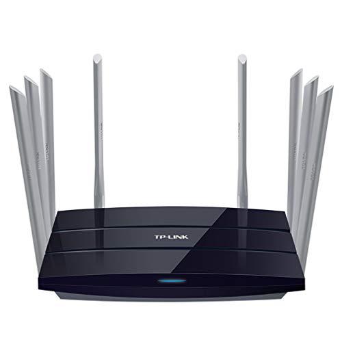 JIANG Routeur sans Fil WiFi avec Routeur sans Fil 2.4G / 5Ghz 2533Mbps avec Routeur WiFi avec Antenne À Gain Élevé 8 * 6Dbi pour Une Couverture Plus Étendue Et Une Configuration Facile
