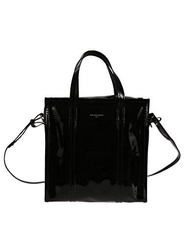 balenciaga-mujer-443096dz21n1000-negro-cuero-bolso-tipo-shopper