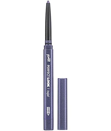 p2 cosmetics Perfect Look Kajal Waterproof 108, 3er Pack (3 x 3 g)