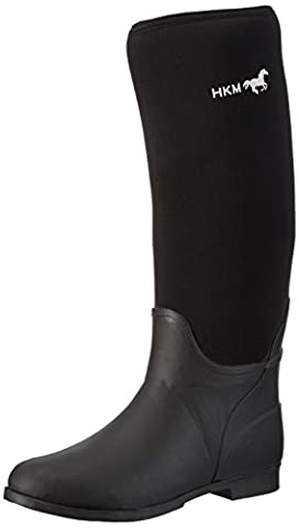 HKM Softopre Boots Atlanta Black black Size:41 EU (7 UK)