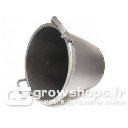 Pot rond noir à poignée 35L - Ø 45/40 x 37 cm