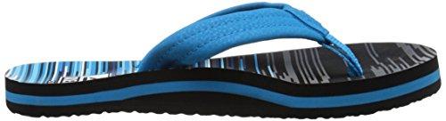 Reef Ahi, Flip-flop garçon Multicolore (Blue Lines)
