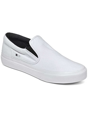 DC Shoes Trase Tx, Sneakers Basses homme white