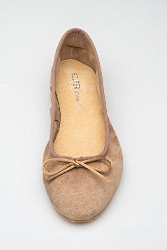 Silfer Shoes , Ballerines pour femme Beige Cipria Beige - Cipria