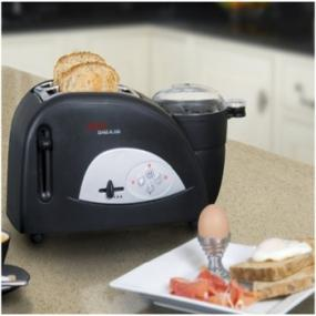 Tefal Toast N Egg with breakfast plate