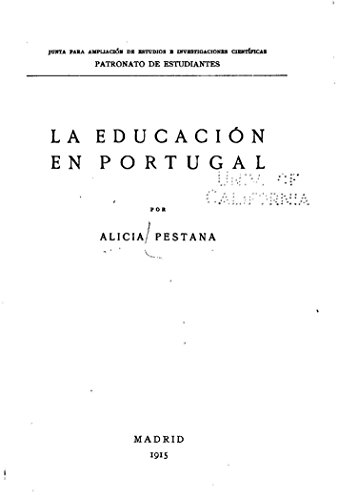 La educatión en Portugal