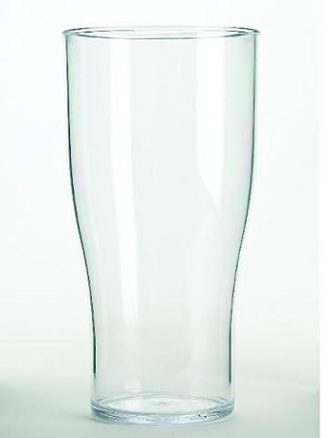 10 Solid Etui rigide en plastique pour marquage CE-Pinte Motif tulipe Pilsner) en &réutilisable Passe au lave-vaisselle