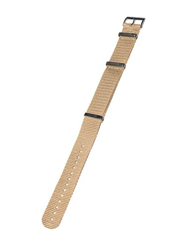 KHS Natoband Tan, Ersatzarmband, KHS.EBNT.22 (Nylon-armband Tan)
