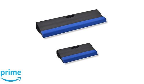 Verfuggummi Gummispachtel Fuggummi mit Kunststoffgriff Breite: 245mm Fugenspachtel 3er Set DEWEPRO/® Fugengummi