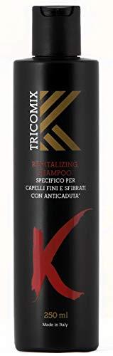 Tricomix Revitalizing Shampoo | Specifico per Capelli Fini e Sfibrati | Con Anticaduta | 250ml