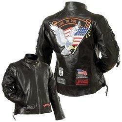 Damen Leder Moto jacket- XL Chaps-mens Tie