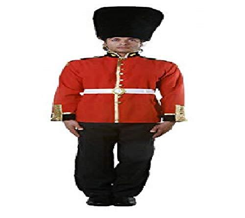 Guard British Kostüm - Dress Up America Attraktives Erwachsene königliche Wache Soldier Kostüm