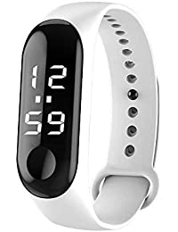 OPAKY Moda Digital LED Reloj Deportivo Unisex Silicone Band Relojes de Pulsera Hombres Mujeres Pulsera de