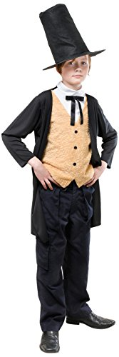 9viktorianischen Kostüm, Mittel, 134cm, Alter: ca. 5–7Jahre, viktorianisches Gent. 134cm (Tudor Outfits Für Jungen)