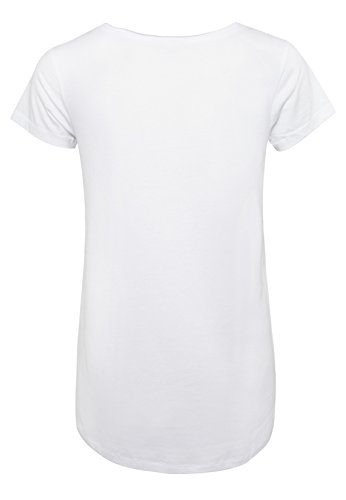 SUBLEVEL Damen Fun T-Shirt mit Pizza Print