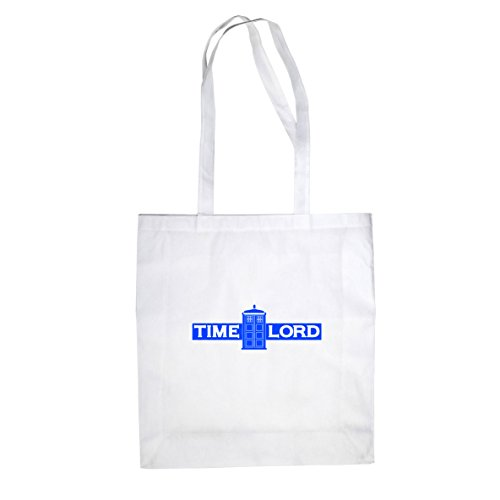 Time Lord - Stofftasche / Beutel Weiß