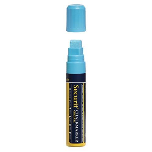 Securit Pennarello gesso liquido punta grande - Blu