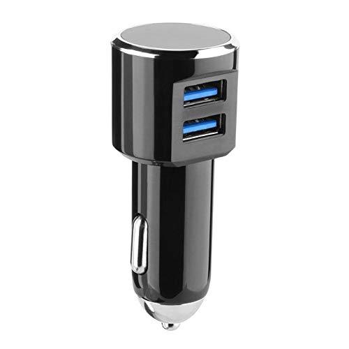 Costume 5V 2.4A Dual 2 Port USB Auto Schnellladegerät Ladeadapter für iphone/Samsung (schwarz)