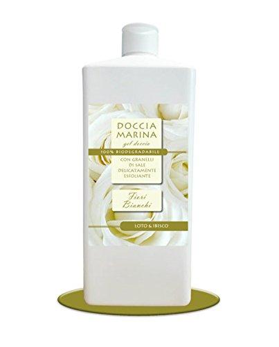 Marina Duschvorhang (Duschvorhang Marina Gel Blumen weißen Lotus & Hibiskus 500ml)