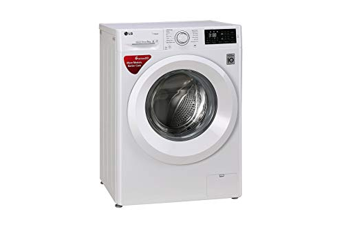 LG 6 kg Inverter Fully-Automatic Front Loading Washing Machine (FHT1006HNW, White)