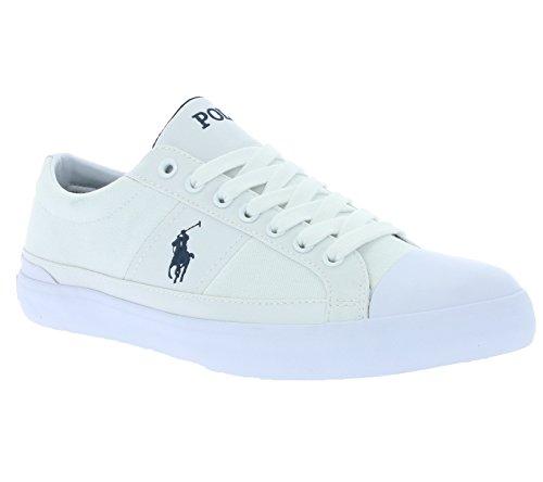Ralph Lauren churston-ne Homme Sneakers Blanc pur