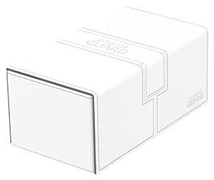 Ultimate Guard Twin FlipŽnŽTray Deck Case 200+ Caja de Cartas Tamaño Estándar XenoSkin Blanco