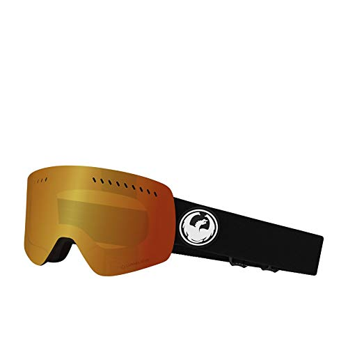 Dragon Herren Schneebrille NFXS Black (+Bonus Lens) Goggle