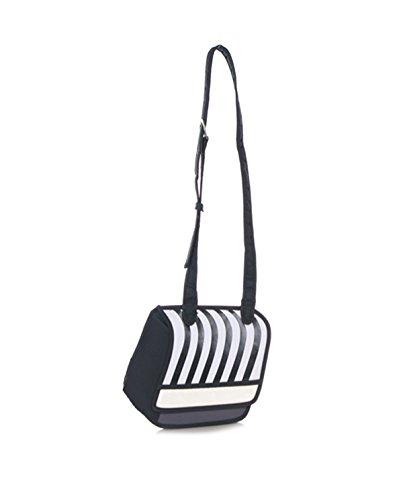 WYZ Fashion Cute Karikatur komisch 3D 2D-Zeichnung Comic Cartoon Kamera Tasche Handtasche Schulter Bag (Black) (Cartoon-zeichnung Cute)